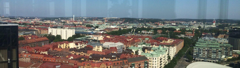 Vy över Göteborg