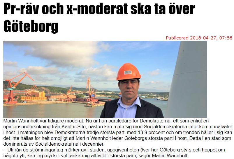 Dagens Opinion 2018-04-27