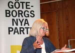 Inga-Britt Ahlenius gästtalar på Demokraternas årsmöte 14 maj 2018