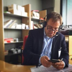 Martin Wannholt i radionintervju