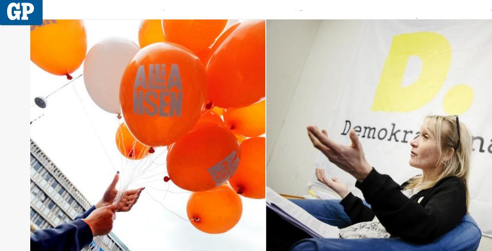 Henrik Munck och Jan-Olof Ekelund skriver replik på Alliansens debattartikel.