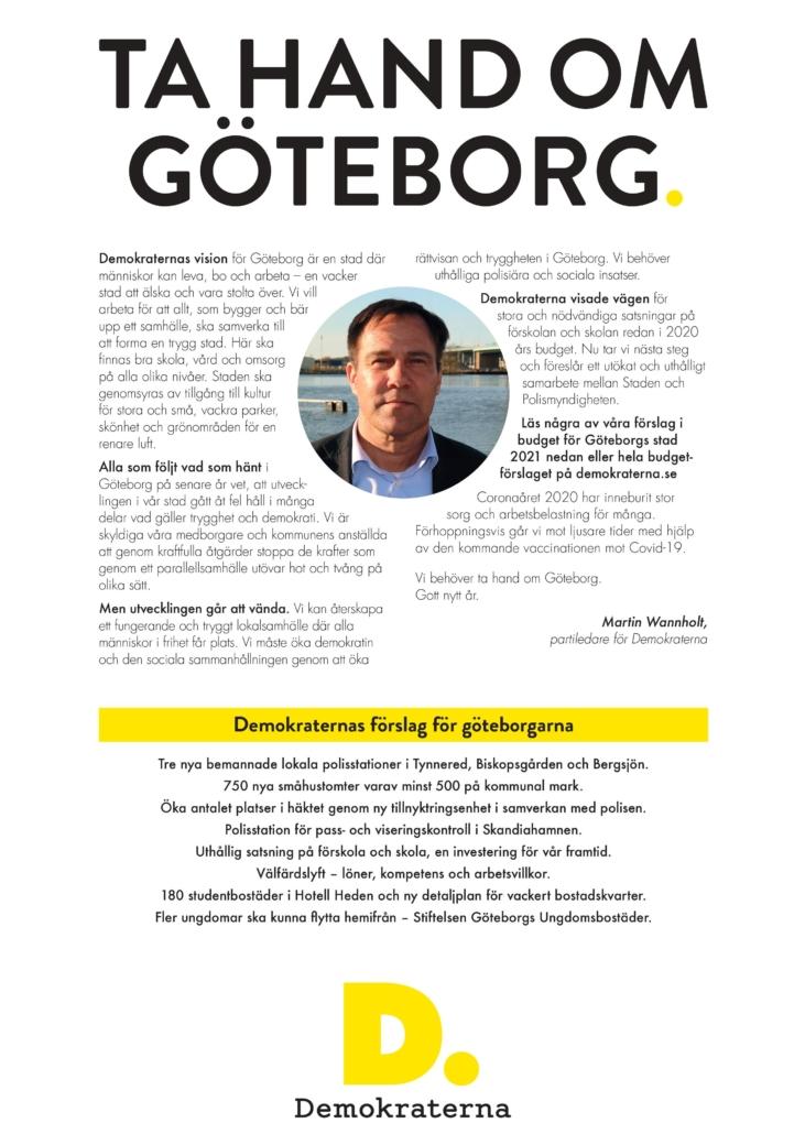 Ta hand om Göteborg.