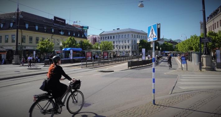 Kungsportsplatsen i Göteborg. Foto: Lars Kérla.